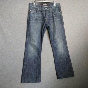 Rock & Republic Henlee BootCut Mens Jeans 33 X 29